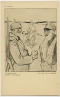 En Serbie WWI And Now As In Belgium Satirical Anti German Card Signed Louis Raemaekers - Serbie