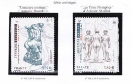 FRANCE 2011 SERIE ARTISTIQUE 633 634 MNH - Unused Stamps
