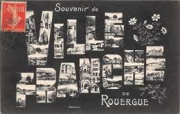 Viilefranche De Rouergue     12    Multivues  Dans Souvenir De.... - Villefranche De Rouergue