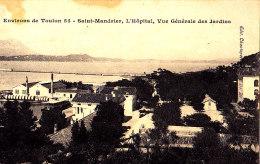 83 - SAINT-MANDRIER - L'Hôpital - Vue Générale Des Jardins - Chanteperdrix 55 - - Saint-Mandrier-sur-Mer
