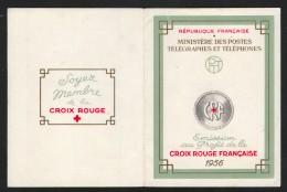 Carnet Croix-Rouge Française 1956,  ** / Neuf - Croce Rossa