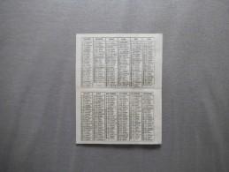 CALENDRIER 1934 OEUVRE DE SAINT PIERRE APOTRE POUR LE CLERGE INDIGENE EN PAYS DE MISSION - Kalenders