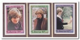Liberia 1982 Imperf., Postfris MNH, Diana - Liberia