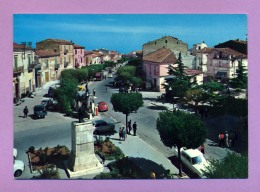 San Martino In Pensilis - Monumento Ai Caduti E Via Marina - Campobasso