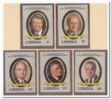 Liberia 1982 Imperf., Postfris MNH, Presidents USA - Liberia