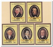 Liberia 1981 Imperf., Postfris MNH, Presidents USA - Liberia