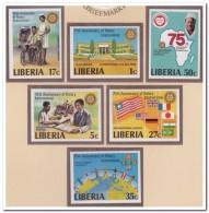 Liberia 1979 Imperf., Postfris MNH, Rotary - Liberia