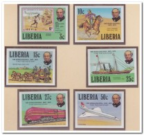 Liberia 1979 Imperf., Postfris MNH, Sir Rowland Hill - Liberia