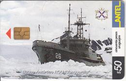 """URUGUAY - Boat, Buque Antartico ROU """"Vanguardia""""(256a), 12/02, Used - Barche"""