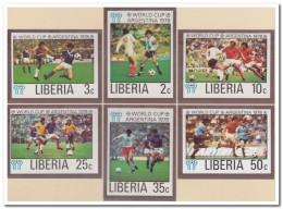 Liberia 1978 Imperf., Postfris MNH, Football, Sport - Liberia