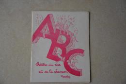 """Programme""""ABC Thetre Du Rire Et De La Chanson""""Tino Rossi Dans Le Role De Frantz Schubert(voir Scans) - Programmes"""