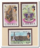 Liberia 1978 Imperf., Postfris MNH, Royal House - Liberia