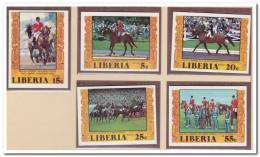 Liberia 1977 Imperf., Postfris MNH, Equestrian Sports - Liberia
