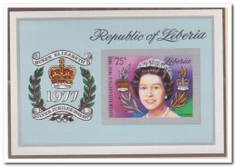 Liberia 1977 Imperf., Postfris MNH, Royal House - Liberia