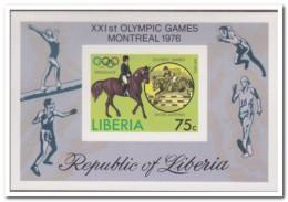 Liberia 1976 Imperf., Postfris MNH, Olympic Games, Dressage - Liberia