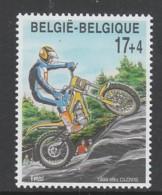 TIMBRE NEUF DE BELGIQUE - MOTOCYCLISME : TRIAL N° Y&T 2820 - Motorbikes