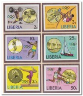Liberia 1976 Imperf., Postfris MNH, Olympic Games - Liberia