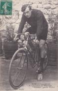 """Romilly-sur-seine J.Lallemand Sur Bicyclette """"Gloriator"""" Pneus Wolber - Romilly-sur-Seine"""