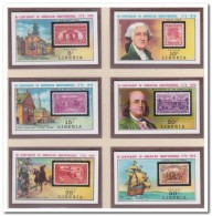 Liberia 1975 Imperf., Postfris MNH, Stamp On Stamp - Liberia