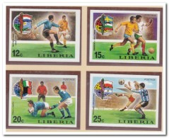 Liberia 1974 Imperf., Postfris MNH, Football, Sport - Liberia