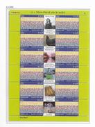 2002 MNH  Netherlands, Sheet, Postfris** - Blocs