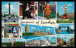 INGLATERRA - LONDRES - Souvenir Of London  Carte Postale - London