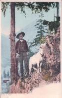 Chèvre Et Chevrier (cpn 67) - Animaux & Faune