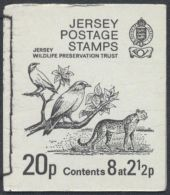 JERSEY CARNET COMPLETO BOOKLET WILDLIFE MAMIFERO FELINO AVE PAJARO - Big Cats (cats Of Prey)