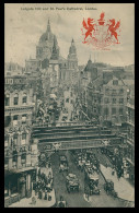 INGLATERRA - LONDRES- Ludgate Hill And St. Paul's Cathedral ( Ed. Tuck And Sons Nº 2174) Carte Postale - St. Paul's Cathedral