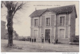 16) Gourville (Charente) La Mairie - (animée) - Unclassified