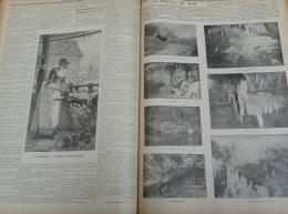 NATIONAL ILLUSTRE 1899 N°34: HAMME(LEZ-TERMONDE)CORTEGE HISTORIQUE ALLEGORIQUE ET RELIGIEUX/GROTTE DE HAN - Newspapers