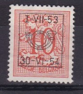 Belgie COB° PRE 636 - Préoblitérés