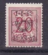 Belgie COB° PRE 622 - Typografisch 1951-80 (Cijfer Op Leeuw)