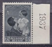 Belgie Drukdatum COB** 451 - Hoekdatums