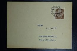 Brief Generalgouvernement Vorlaufer Postcard Sosnowiec To Friedichsthal Oberschlesien 22-12-1939