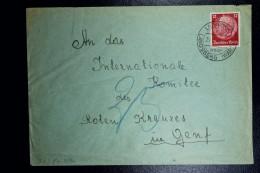 Brief Generalgouvernement Vorlaufer Landsberg Liebenow To Geneve Sensor Stip At Back  29-11-1940