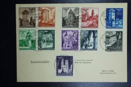 Cover Generalgouvernement  Registered Krakau To Berlin  Mi Nr 40 - 50  Dd 5-9-1940