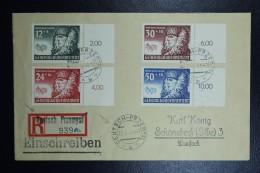 Cover Generalgouvernement Einschreiben Deutsch Przemysl To Schönebeck Randstucken, Mi 59 - 62  25-02-1941