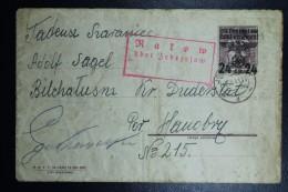 Umslag Generalgouvernement  Krakau, 1941 Via Ratow To A German Prisoncamp  U1