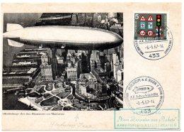 Allemagne, Pli Expo Astrophilatélie. Austellung Mülheim A.d. Ruhr. Vom Zeppelin Zur Rakete. 5/05/67. Photo Le Hindenburg - [6] Oost-Duitsland