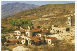 La Vallée De La Mort (Scotty's Castle Mansion) Carte Adressée ANDORRA, Avec Timbre à Date Arrivée - Etats-Unis