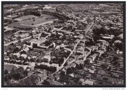 66) PRADES - Vue Aérienne Générale , Rue Du Palais De Justice - église Collège De Garçons Et Les écoles (1962) - Prades