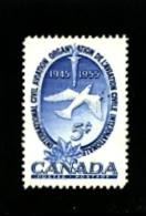 CANADA - 1955  CIVIL AVIATION  MINT NH