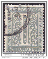 Italy 1863, Numeral, 1c, Used - 1861-78 Vittorio Emanuele II