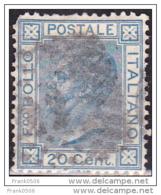 Italy 1867, Vittoria Emanuelle II, 20c, Used - Used