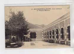 BOURBONNE LES BAINS - Cour Intérieure De L'Hôpital Militaire - Très Bon état - Bourbonne Les Bains