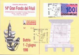 Buttrio 1996 - 14 Gran Fondo Cicloturistica - Udine
