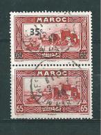 Colonie Francaise   Maroc De 1939/40  N°161a   (avec Et Sans Surcht)  Oblitéré - Maroc (1891-1956)