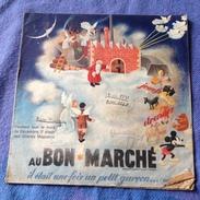 Revue - Au Bon Marché - Maison A. Boucicaut -  Jeu - Jouets - Publicité Année 1936 (plis Coin Du Bas) - Palour Games
