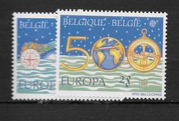 1992 MNH Cept Belgium - 1992